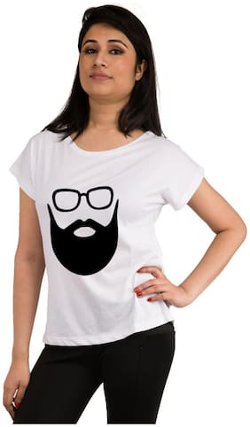 Snoby beared printed t-shirt
