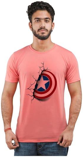 Snoby Captain America Printed Tshirt