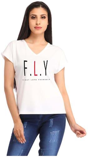 Snoby F.L.Y printed t-shirt