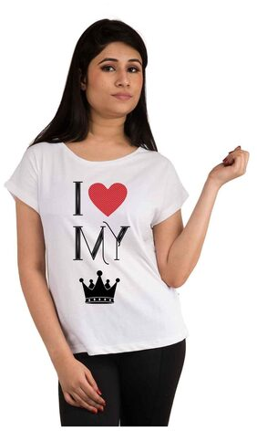 Snoby I Love my King printed t-shirt