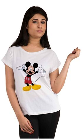 Snoby Mickey mouse printed t-shirt