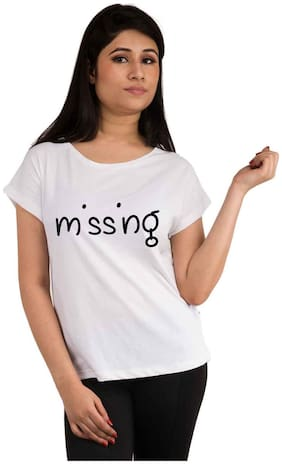 Snoby Missing printed t-shirt