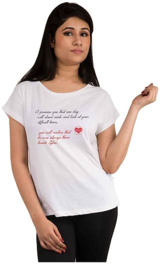 Snoby promise printed t-shirt