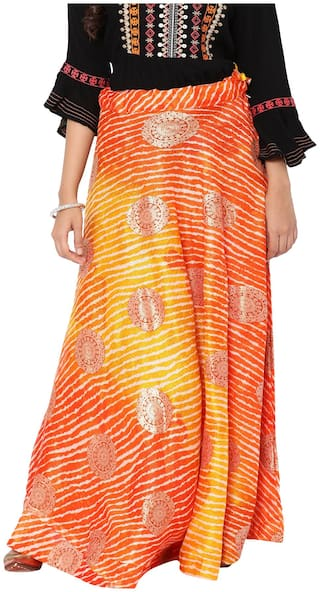 Soch Printed Flared skirt Maxi Skirt - Multi