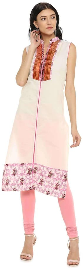 Women Printed Straight Kurta