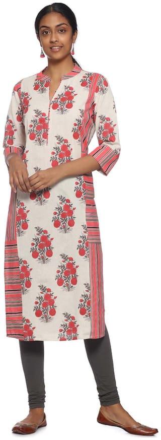 Soch Women Multi Printed Straight Kurti