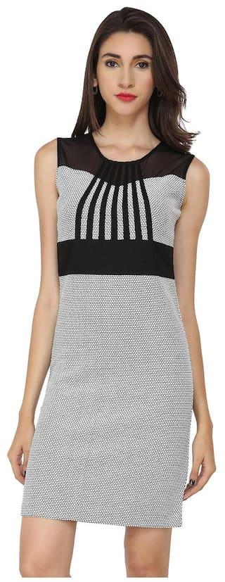 SOIE Straight A- Line slim fit Party Dress