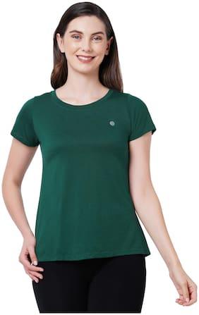 SOIE Women's Soft Cotton Modal Lounge T-shirt