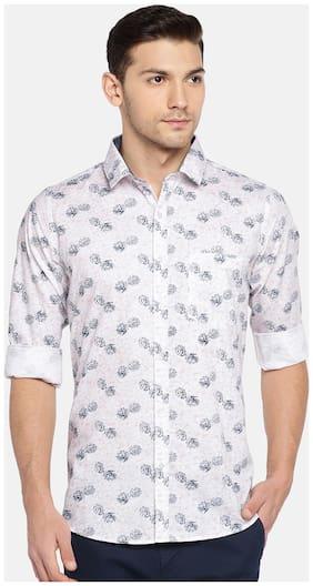 Men Regular Fit Floral Casual Shirt