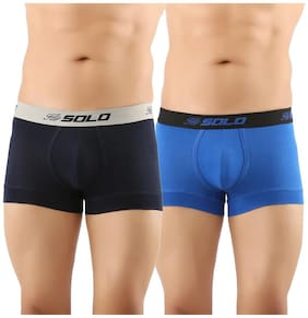 Solo Trunks - Blue ,Pack of 2
