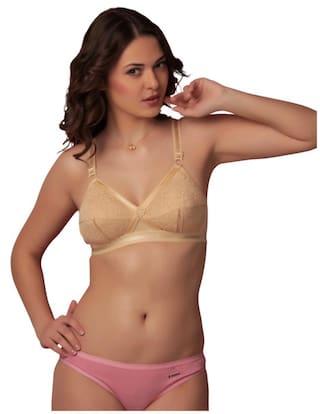 26ae9d9fbc Buy Sona Women S Delicate Super Everyday Full Coverage Plus Size Bra ...