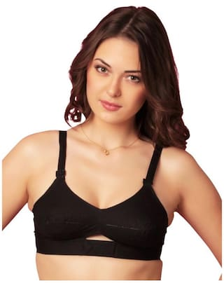 c0c2258592a54 Buy Sona Moving Elastic Strap Full Cup Plus Size Cotton Bra Online ...