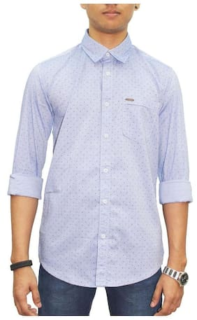 Southbay Men Slim Fit Casual shirt - Blue