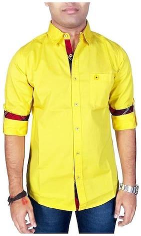 Southbay Men Regular fit Casual shirt - Yellow