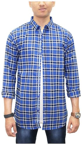 South Bay Men Slim fit Casual shirt - Blue