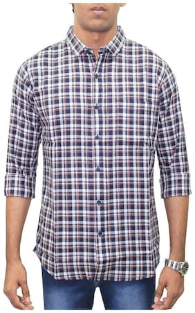 Southbay Men Multi Checked Regular Fit Casual Shirt