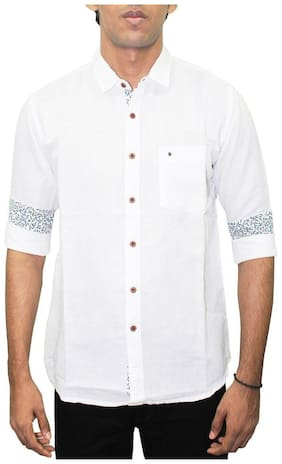 Southbay Men Regular fit Casual shirt - White