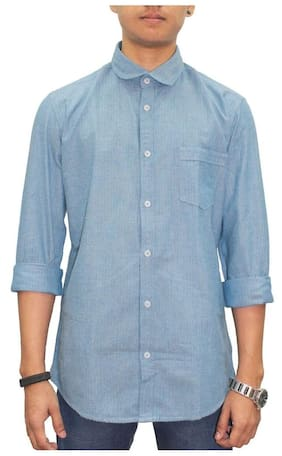 Southbay Turquoise Slim Fit Shirt