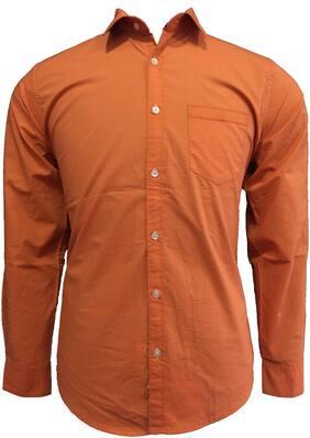 Speak Men Super slim fit Casual shirt - Orange