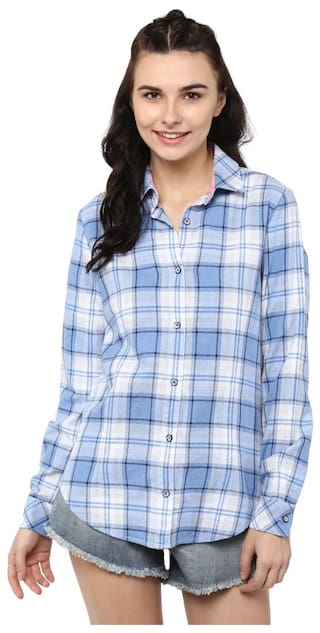 Cotton SPEAK SPEAK Casual Women's Women's Shirt qwtW0vv5