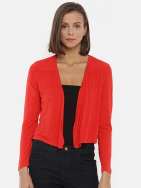 Splash Women Shrug - Red