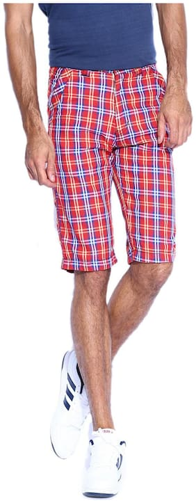 SPORTS 52 WEAR Men Cotton blend - Red