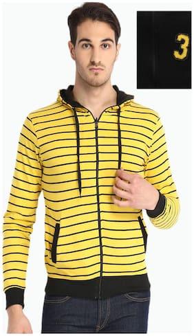 SPORTS 52 WEAR Men Cotton - Yellow