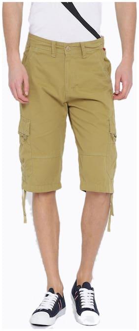 Sports 52 Wear Men's Cotton Cargo Shorts S52w148983_camel_32