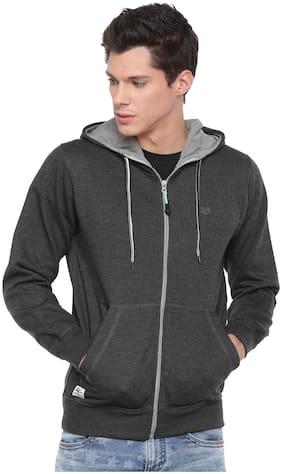 SPORTS 52 WEAR Men Blended Sweatshirt - Grey