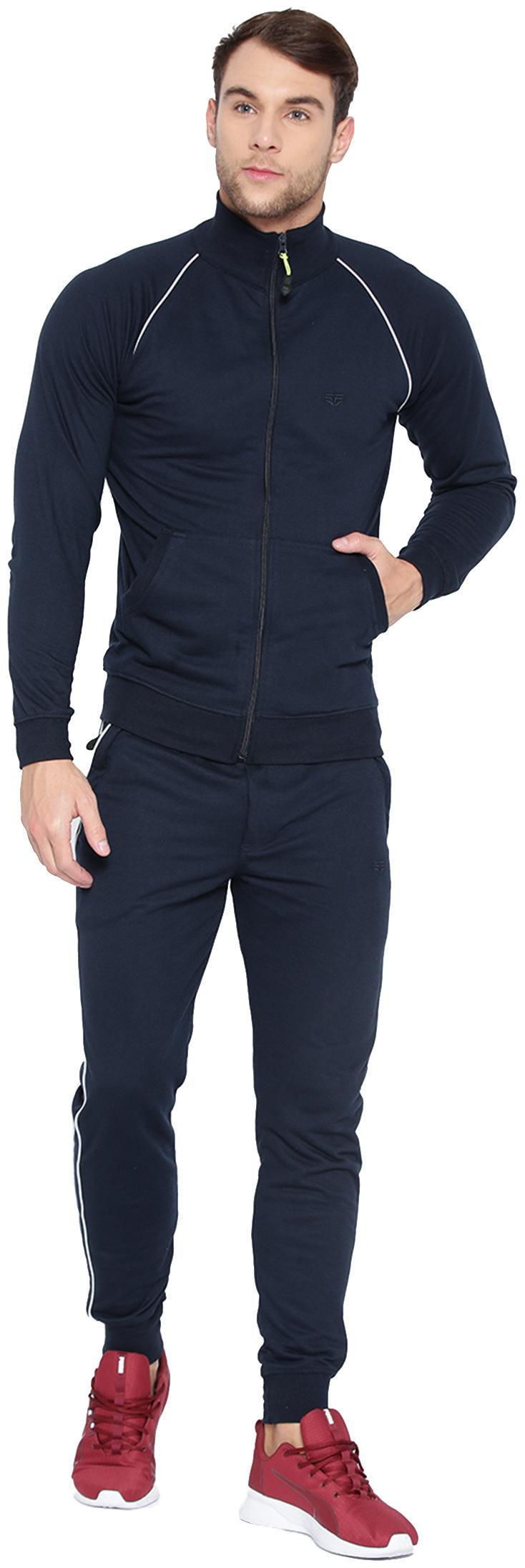 Sports52 wear Men Poly Cotton Tracksuits