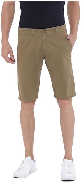 Sports52 wear Men's Cotton Green Chino Shorts