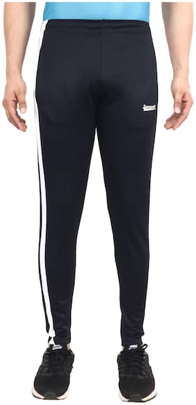 Sprandi Men Navy blue Solid Regular fit Track pants