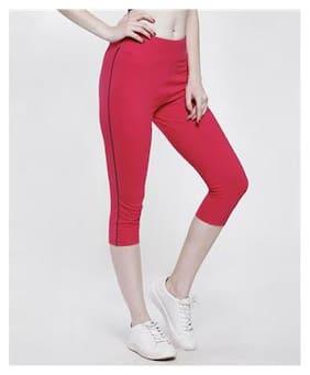 Women Polyester Skinny Shorts