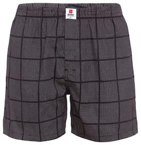 Checked Cotton Boxers