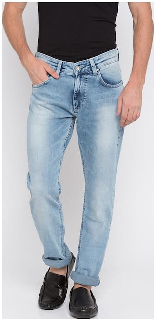 Spykar Men Blue Slim Fit Jeans