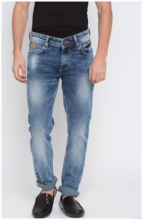 Men Skinny Fit Low Rise Jeans