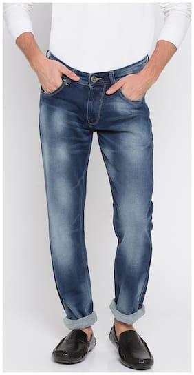 Men Skinny Fit Low Rise Jeans