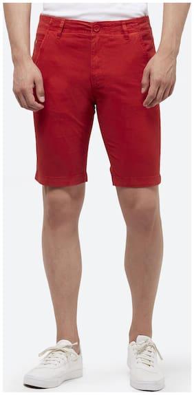 Men Solid Regular Shorts ,Pack Of Pack Of 1