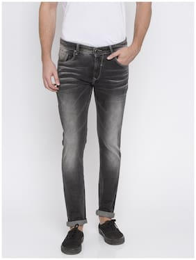 Men Skinny Fit Mid Rise Jeans ,Pack Of Pack Of 1