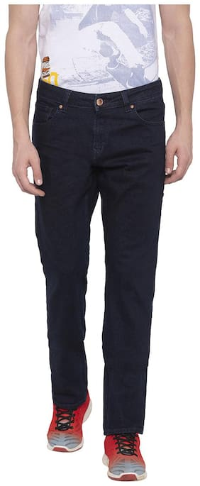 Men Straight Fit Mid Rise Jeans ,Pack Of Pack Of 1