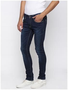Men Super Skinny Fit Mid Rise Jeans