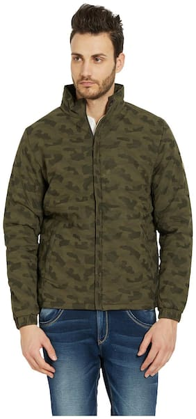 Men Leather Long Sleeves Jacket