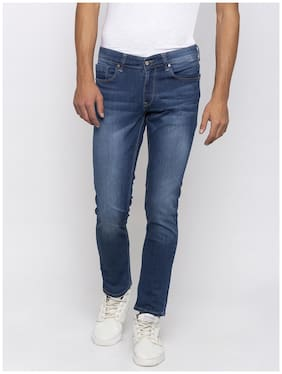 Men Super Skinny Fit Low Rise Jeans