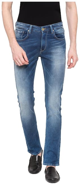 Men Tapered Fit Low Rise Jeans Pack Of 1