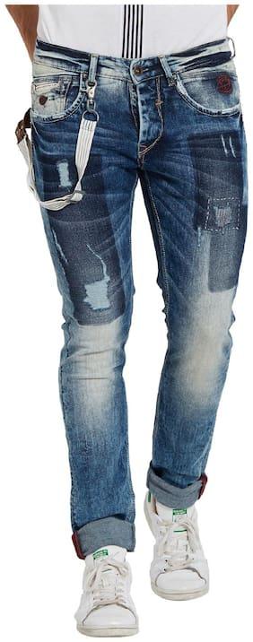 Men Regular Fit Low Rise Jeans