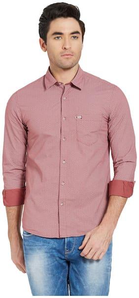 Spykar Men Slim Fit Casual shirt - Pink