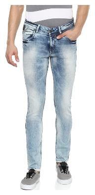 Spykar Men Blue Skinny Fit Jeans