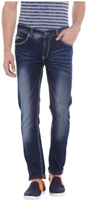 Men Regular Fit High Rise Jeans
