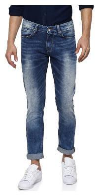 Spykar Men Blue Regular Fit Jeans