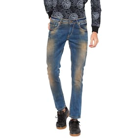 Spykar Men Low Rise Skinny Fit